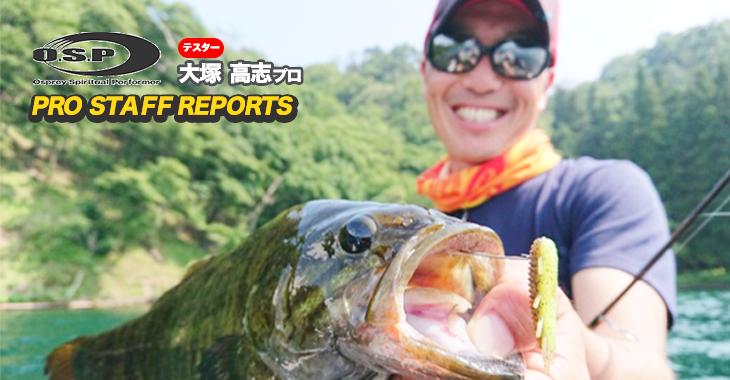 長野県野尻湖でHPバグ 1.5″のライトキャロライナリグが炸裂!!【寄稿記事】